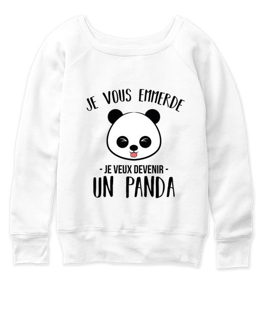 campagne je veux devenir un panda madame connasse. Black Bedroom Furniture Sets. Home Design Ideas
